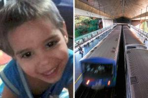 Mãe se sente culpada pela morte do filho de 3 anos que foi atropelado no metrô em SP